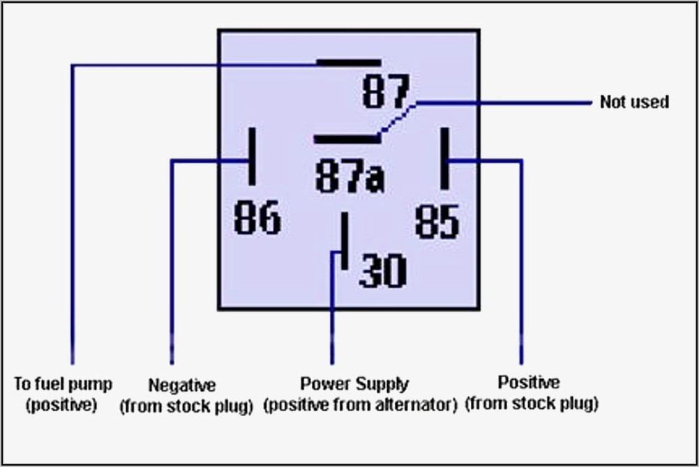 5 Pin Relay Wiring Diagram For Off Road Lights