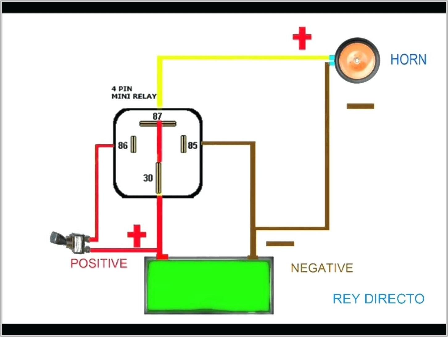 5 Pin Relay Wiring Diagram Starter