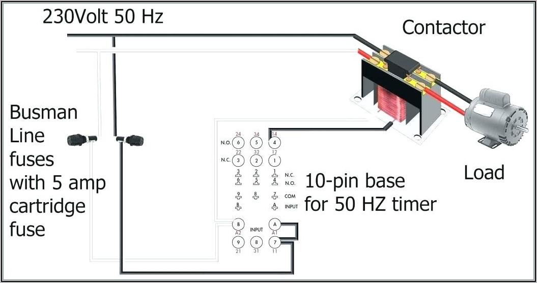 5 Pin Spdt Relay Diagram