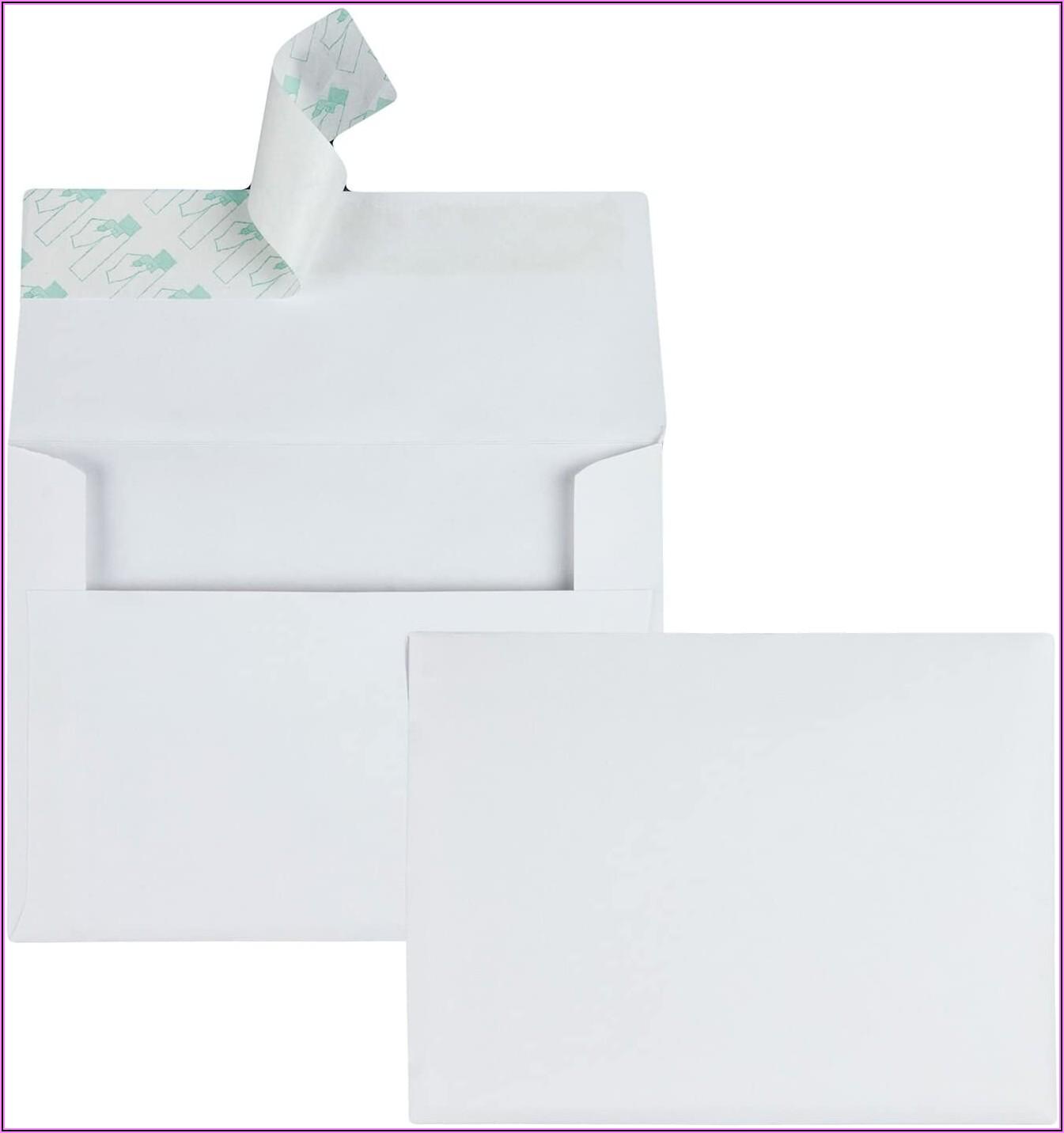 5x7 White Envelopes Office Depot