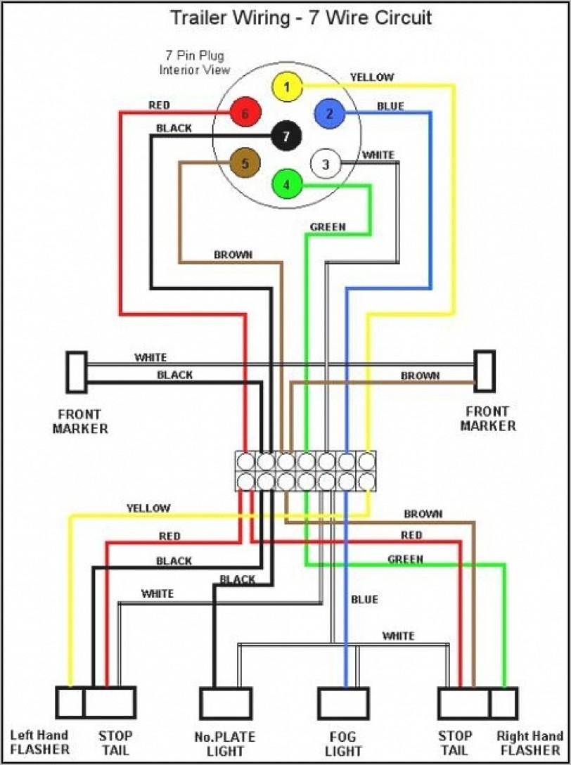 7 Blade Trailer Plug Wiring Diagram Ford