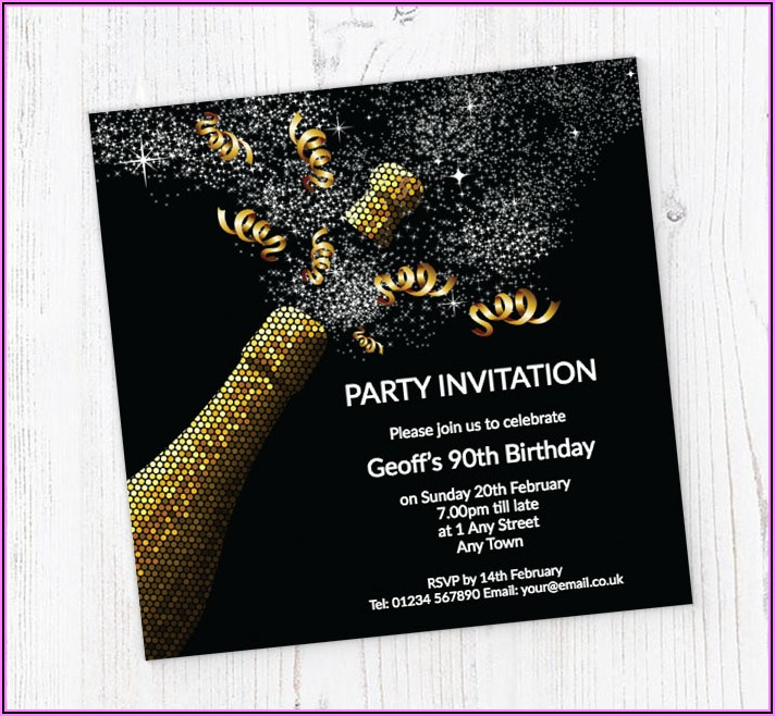 90th Birthday Invitations Online