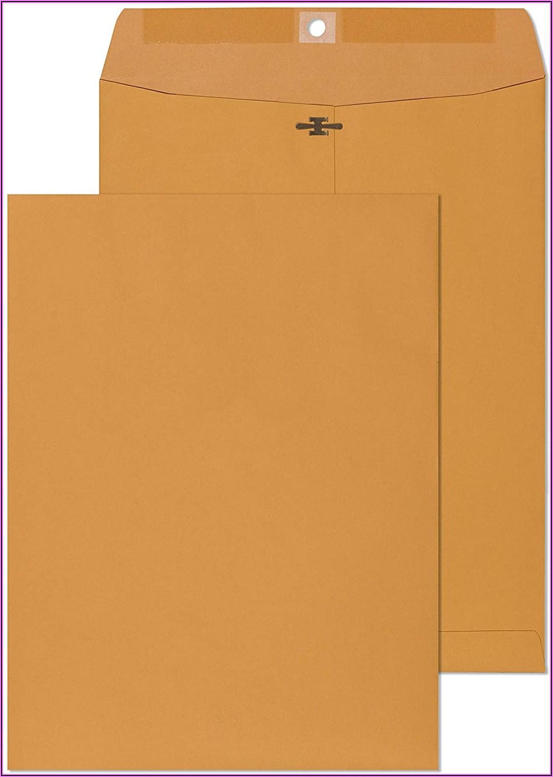9x12 Manila Envelope Weight