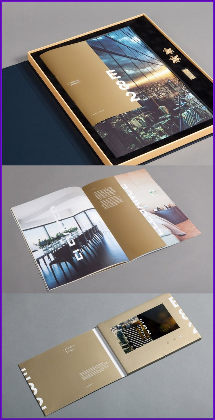 A4 Bifold Brochure Template Free Download