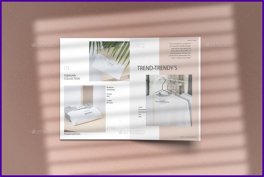 A5 Bifold Brochure Template Free