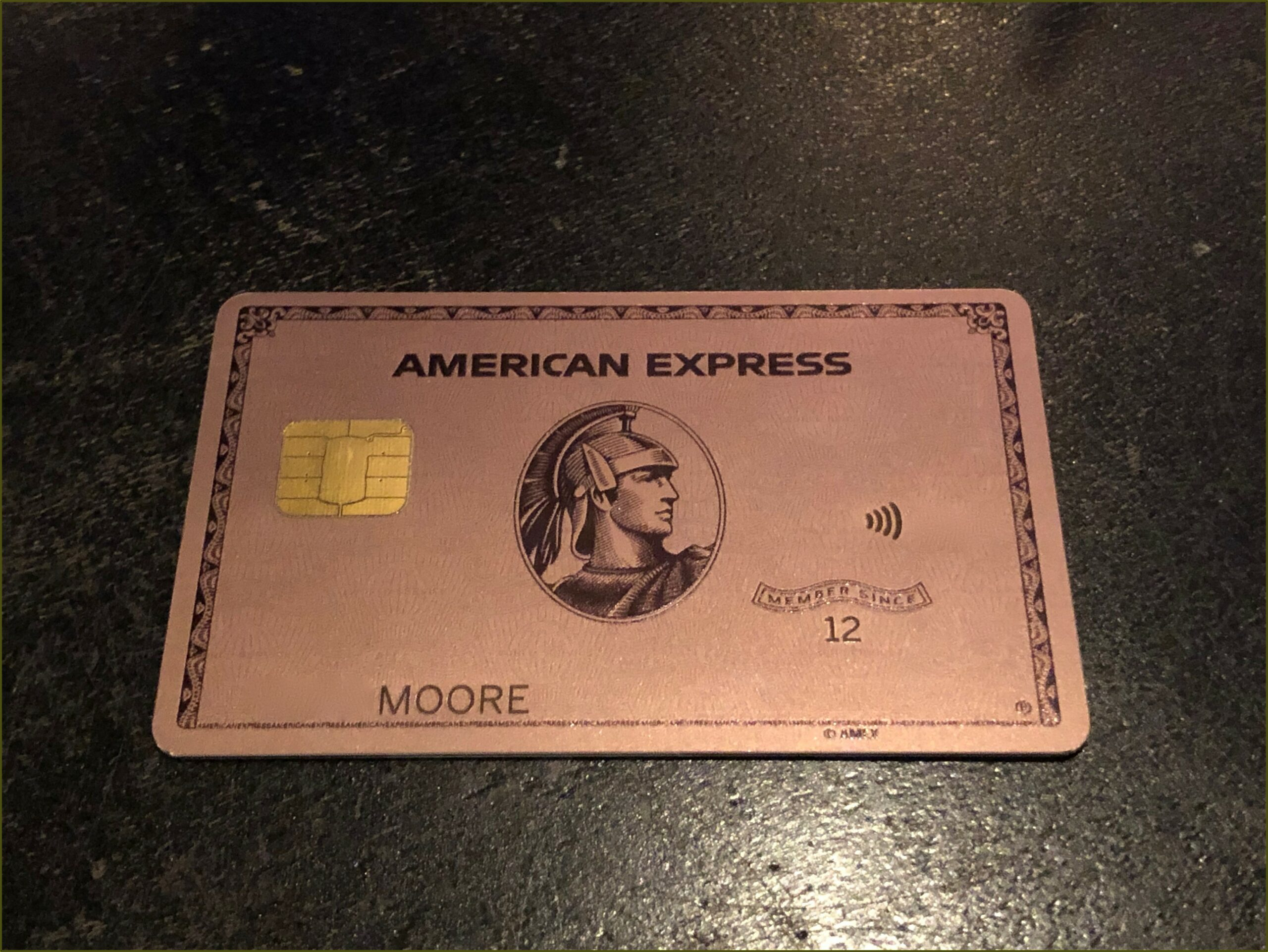 American Express Business Gold Card Metal
