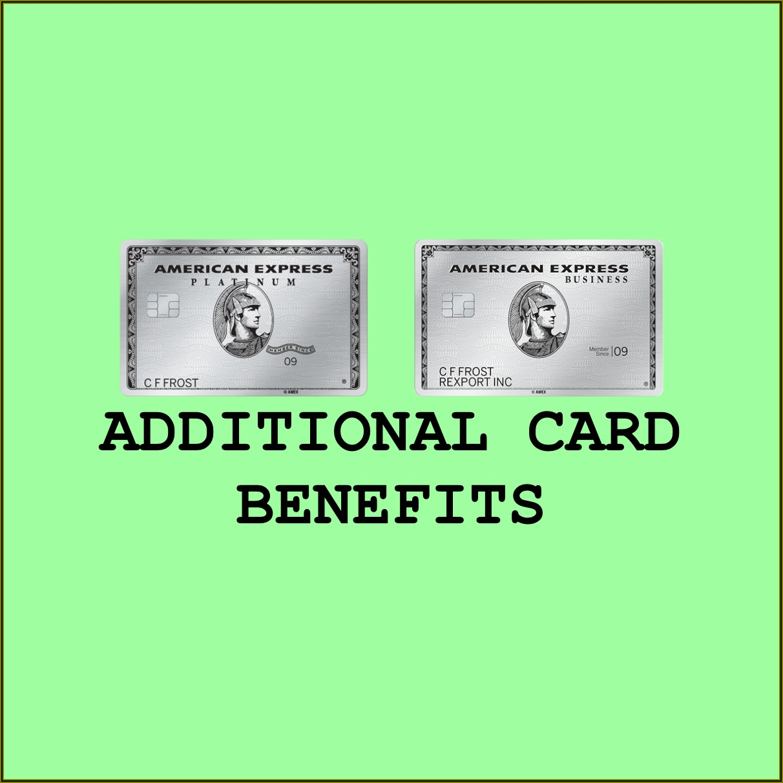 Amex Platinum Business Additional Card Benefits