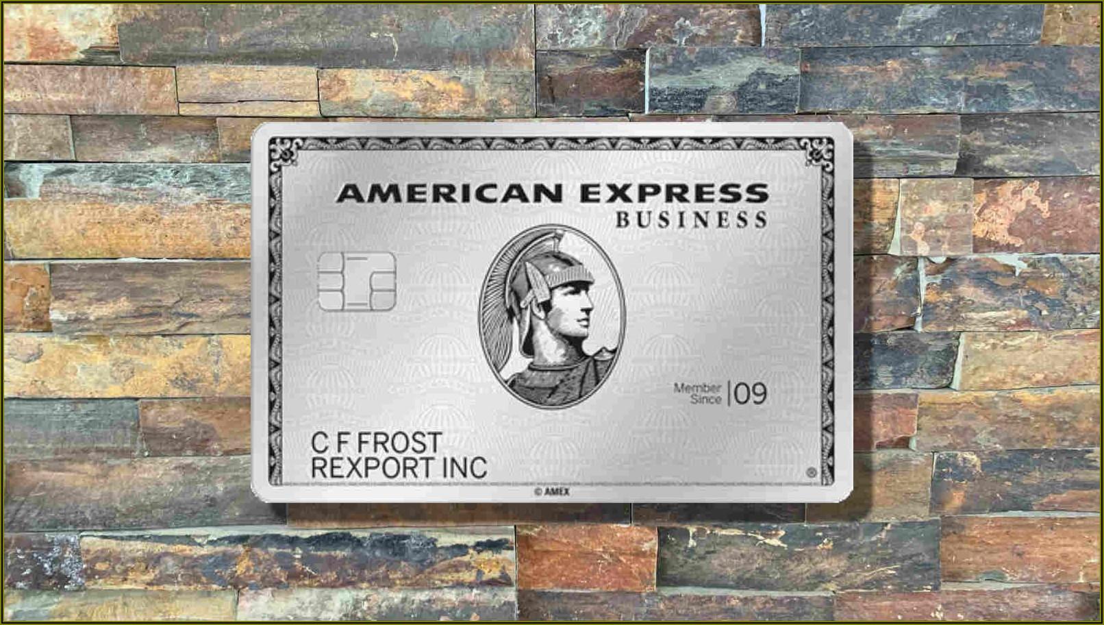 Amex Platinum Business Card Review