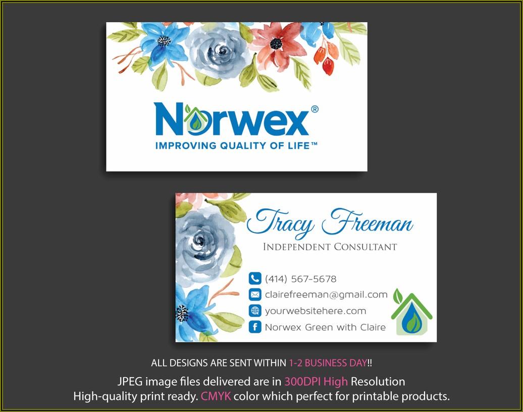 Arbonne Business Cards Template