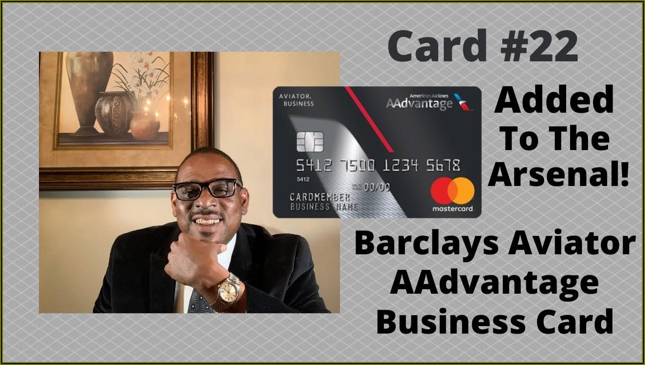 Barclay Aa Business Card