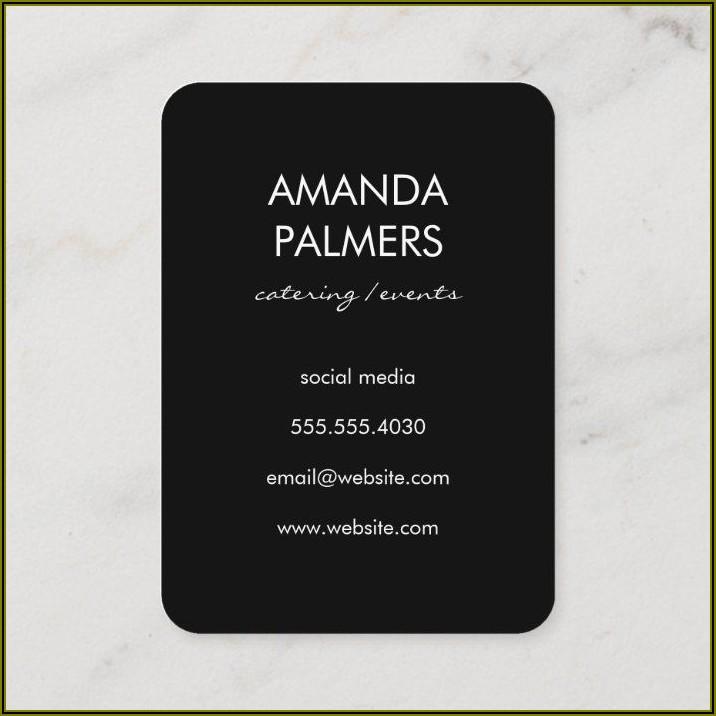 Bartender Business Card Ideas