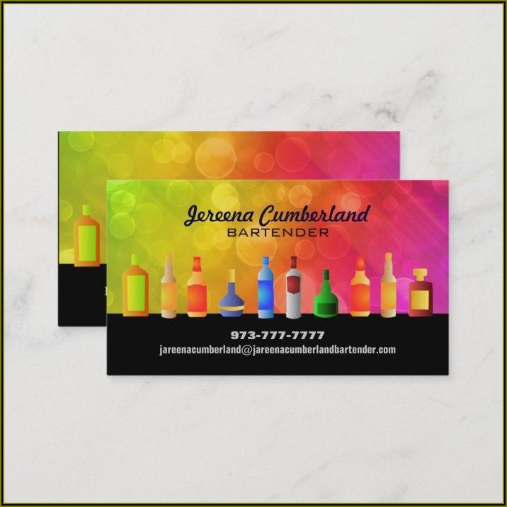 Bartender Slogans For Business Cards