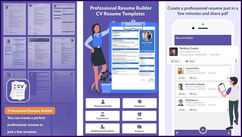 Best Resume Builder App For Pc