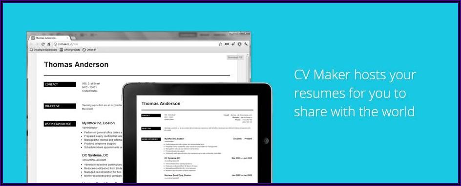 Best Resume Maker App For Mac