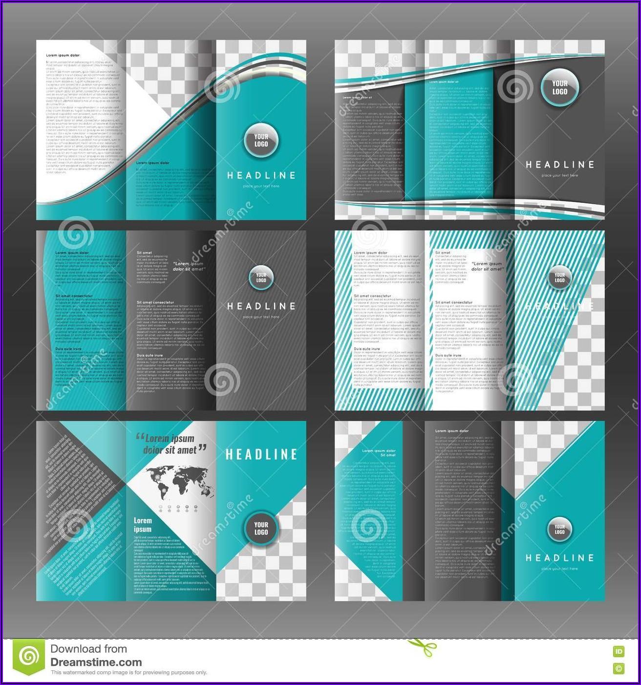 Blank Brochure Templates Free Download Word