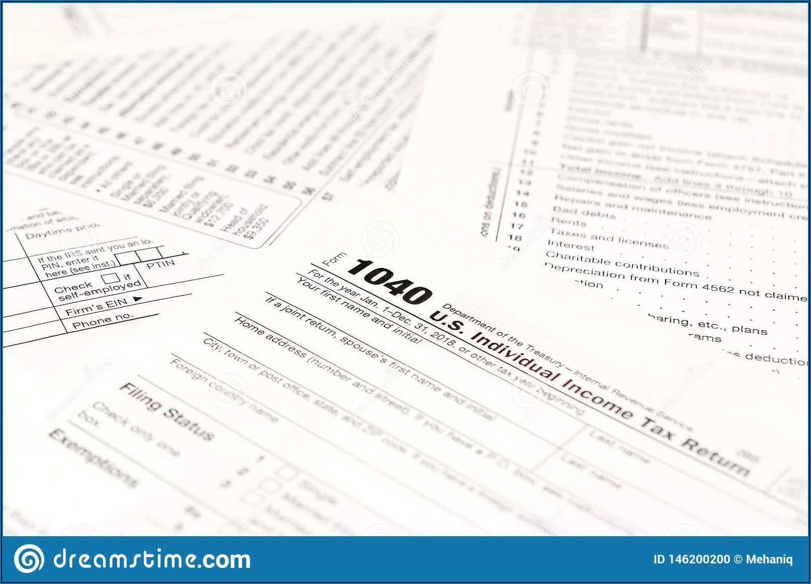 Blank Income Tax Form 2018