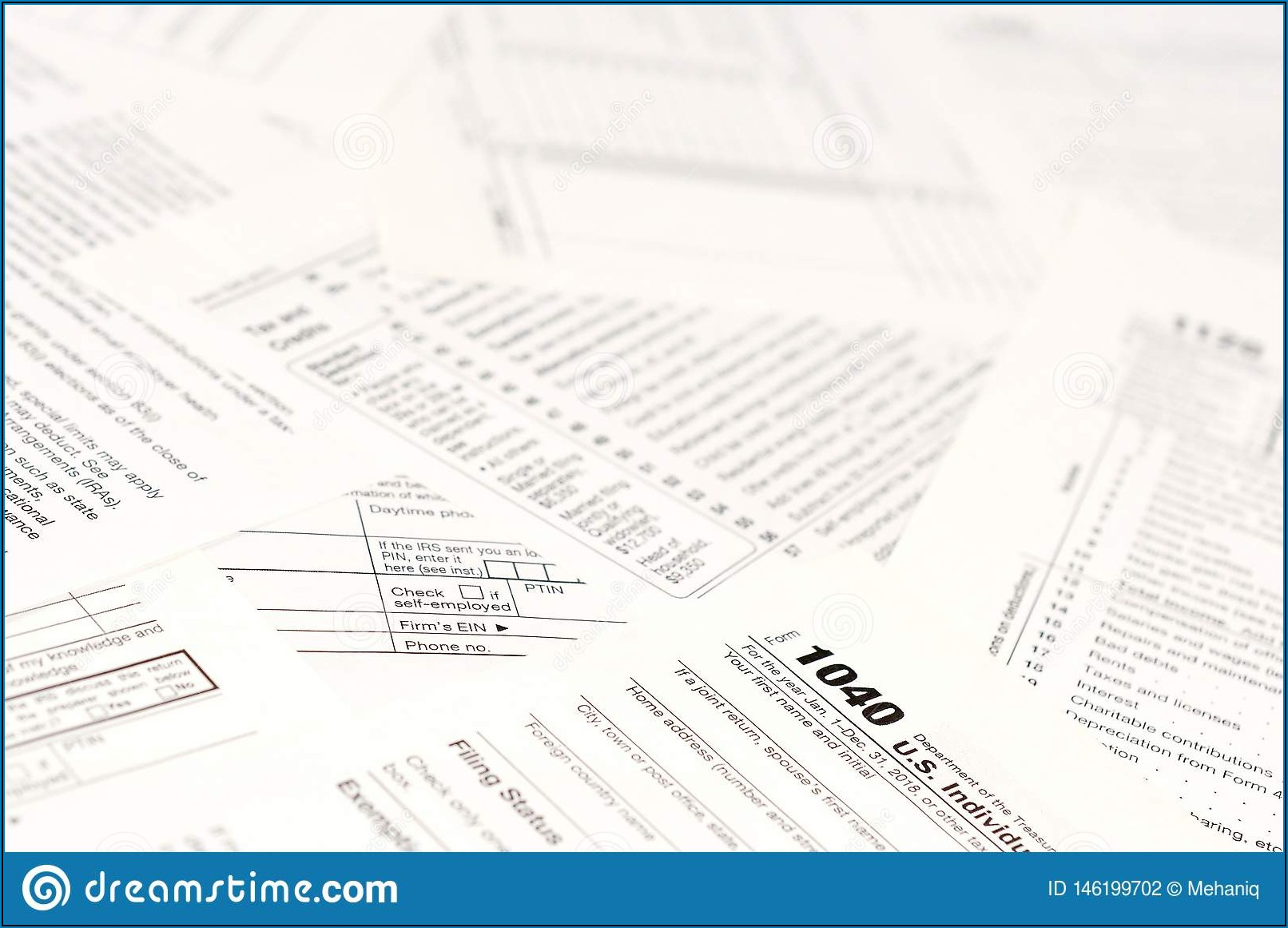 Blank Income Tax Return Form