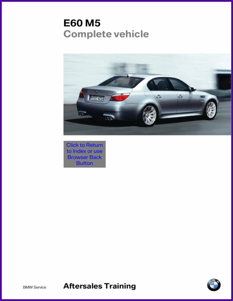 Bmw E60 M5 Brochure Pdf