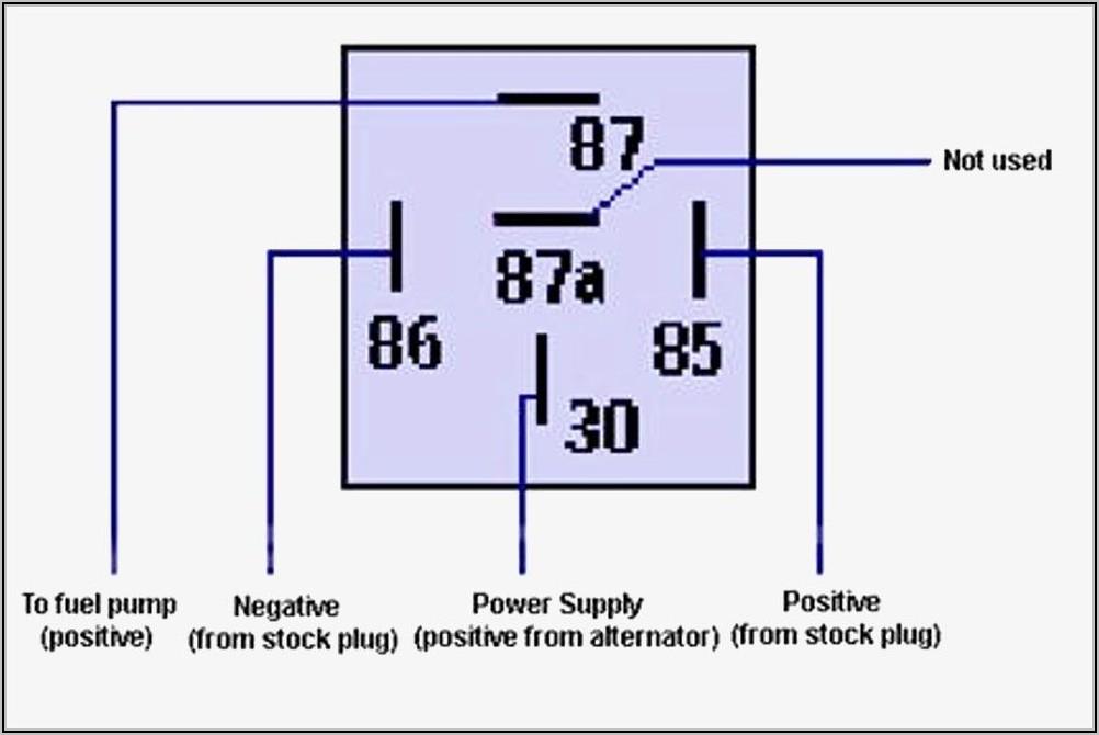 Bosch 5 Pin Relay Diagram