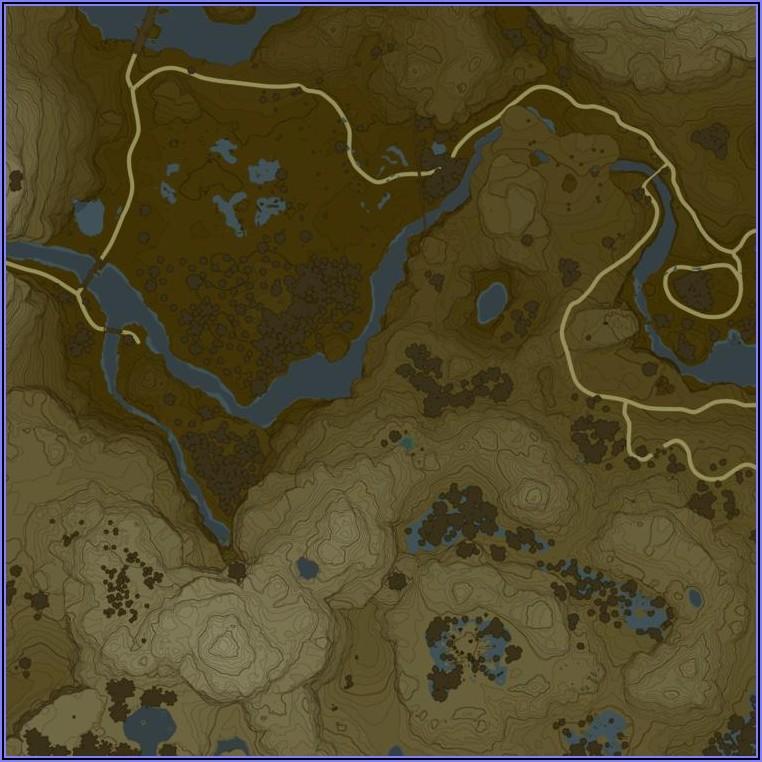 Botw Interactive Map By Region