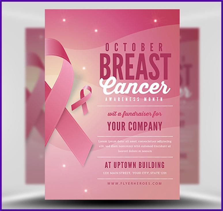 Breast Cancer Awareness Brochure Templates
