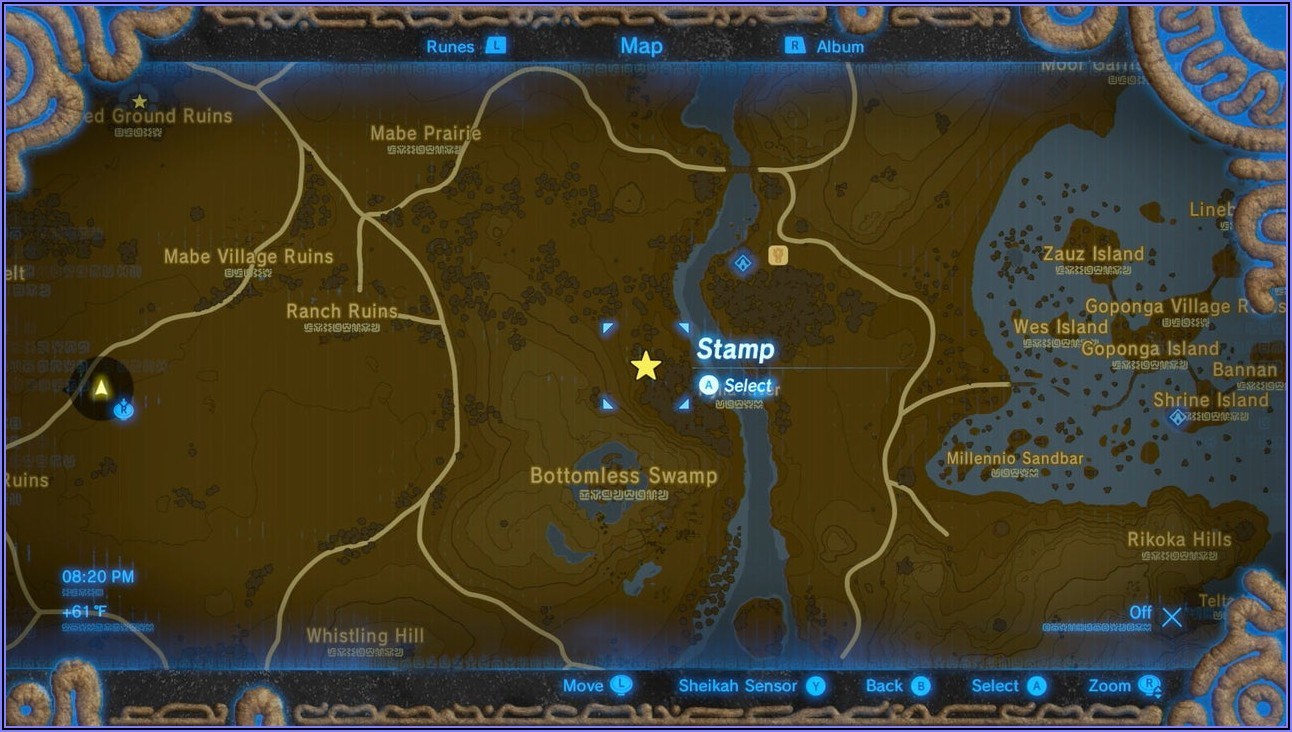 Breath Of The Wild Shrine Map Interactive