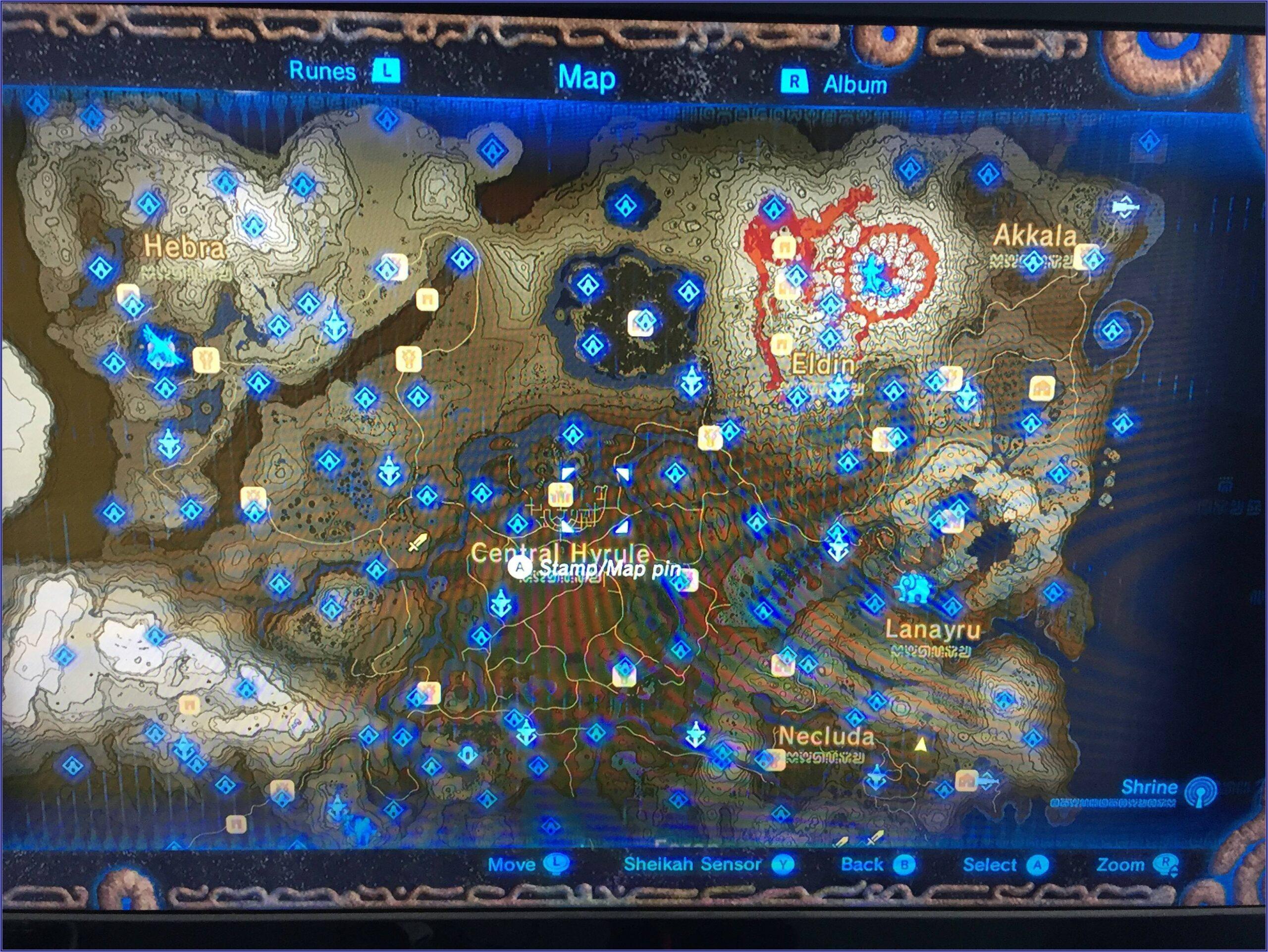 Breath Of The Wild Shrine Maps