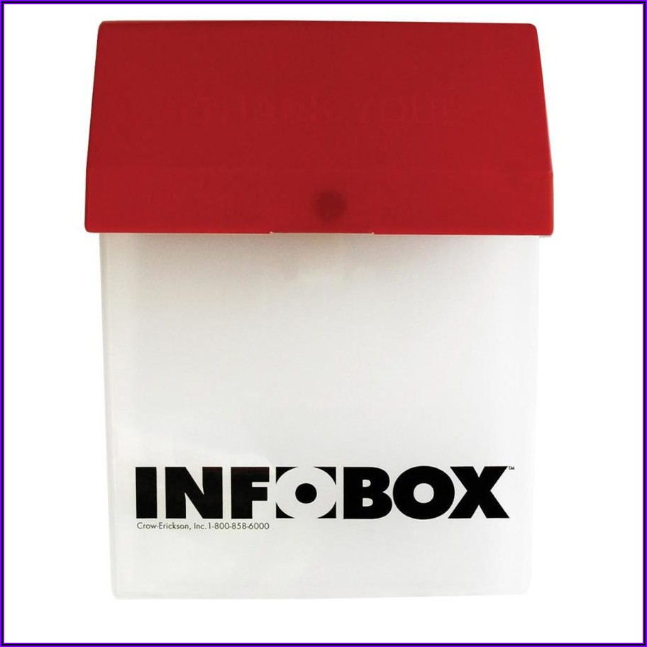 Brochure Box With Stake Lowes