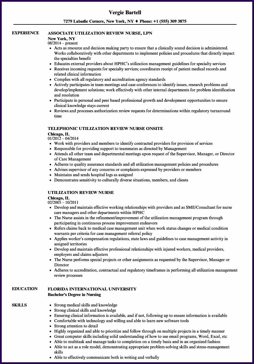 Bsc Nursing Resume Format Free Download