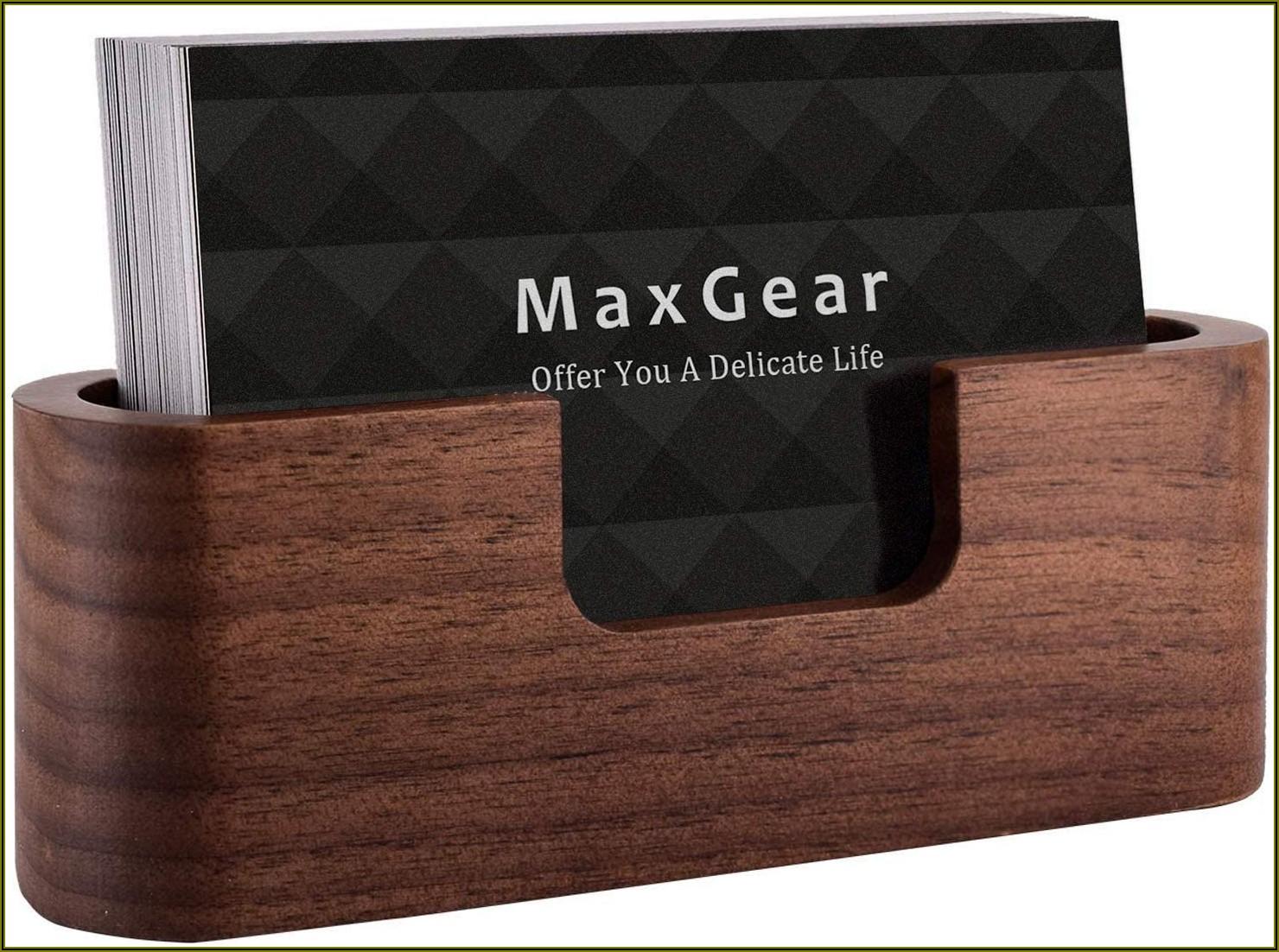 Business Card Holder Desk