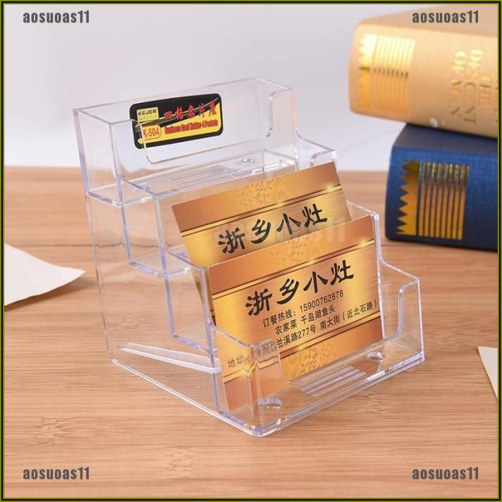 Business Card Holder Desktop