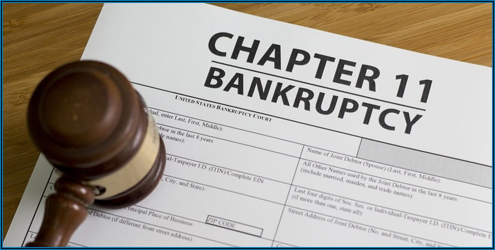 Chapter 11 Bankruptcy Claim Forms