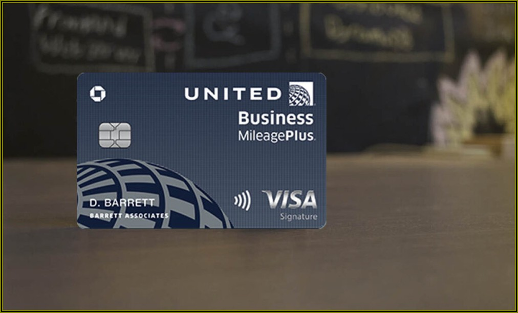 Chase United Business Card