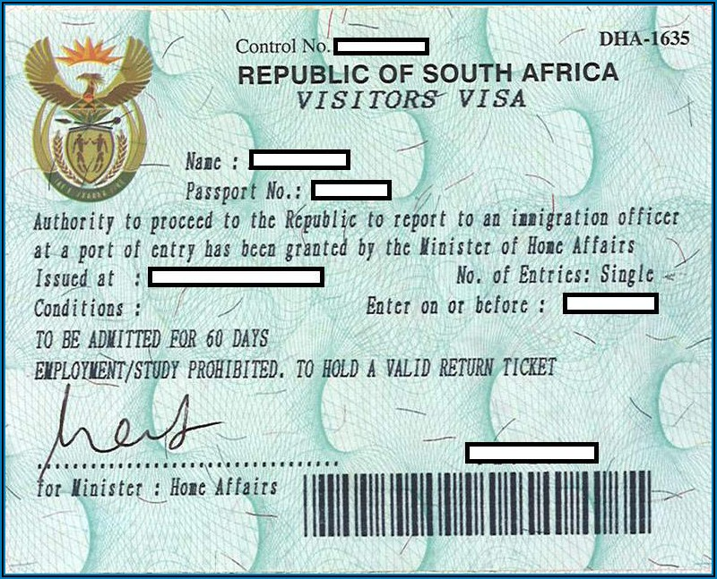 China Visa Fees South Africa