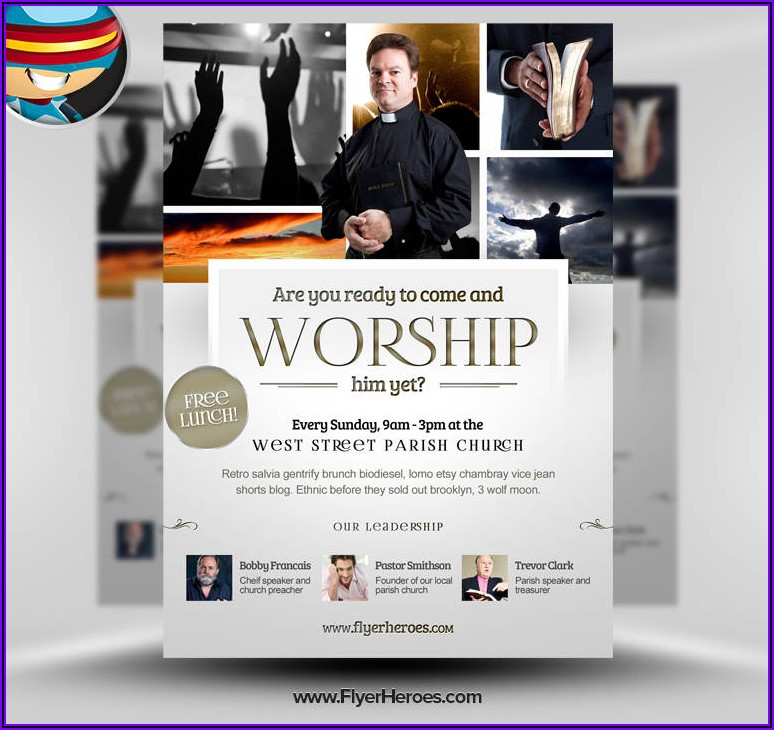 Church Brochure Templates Free Downloads