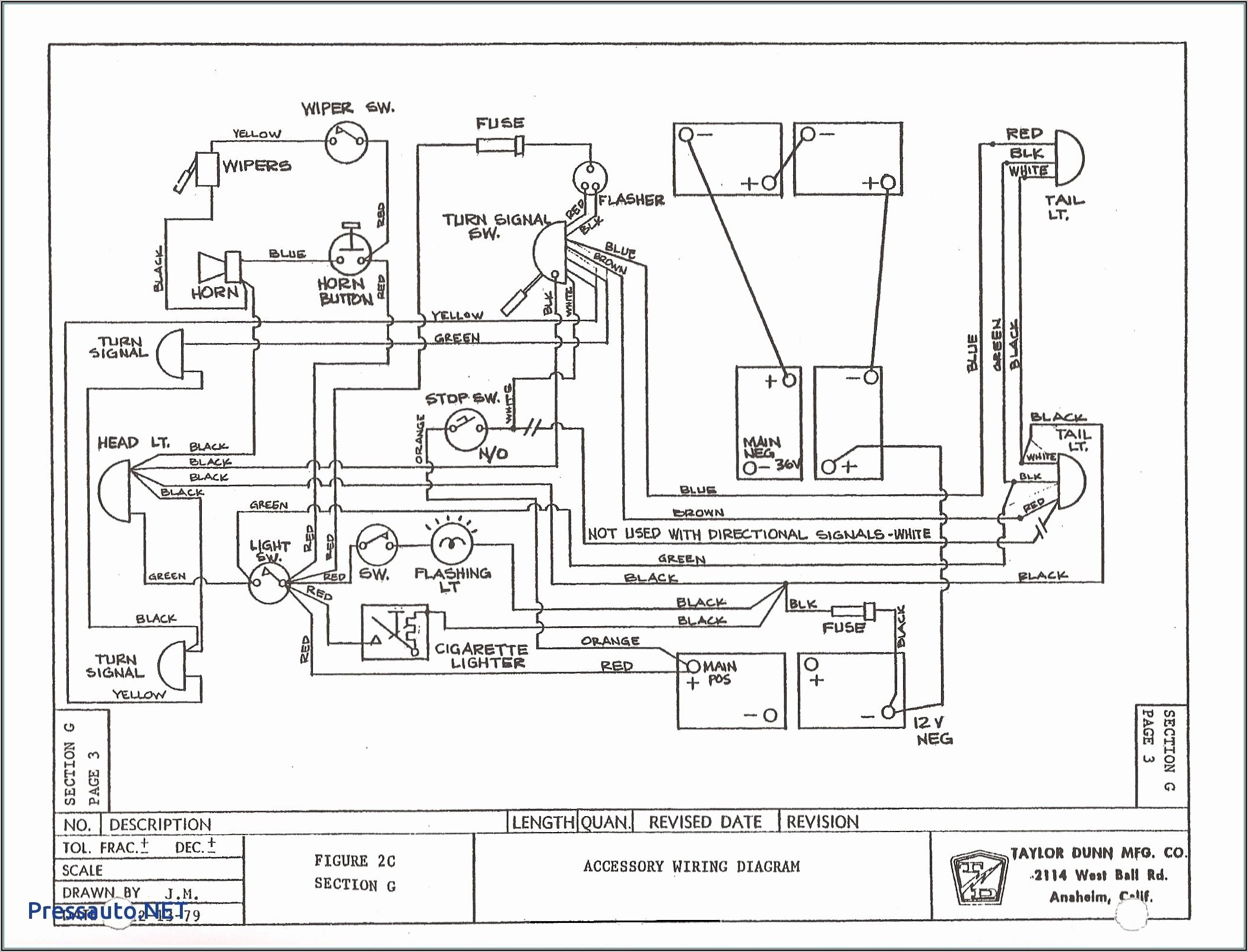 Club Car Wiring Diagram 1991