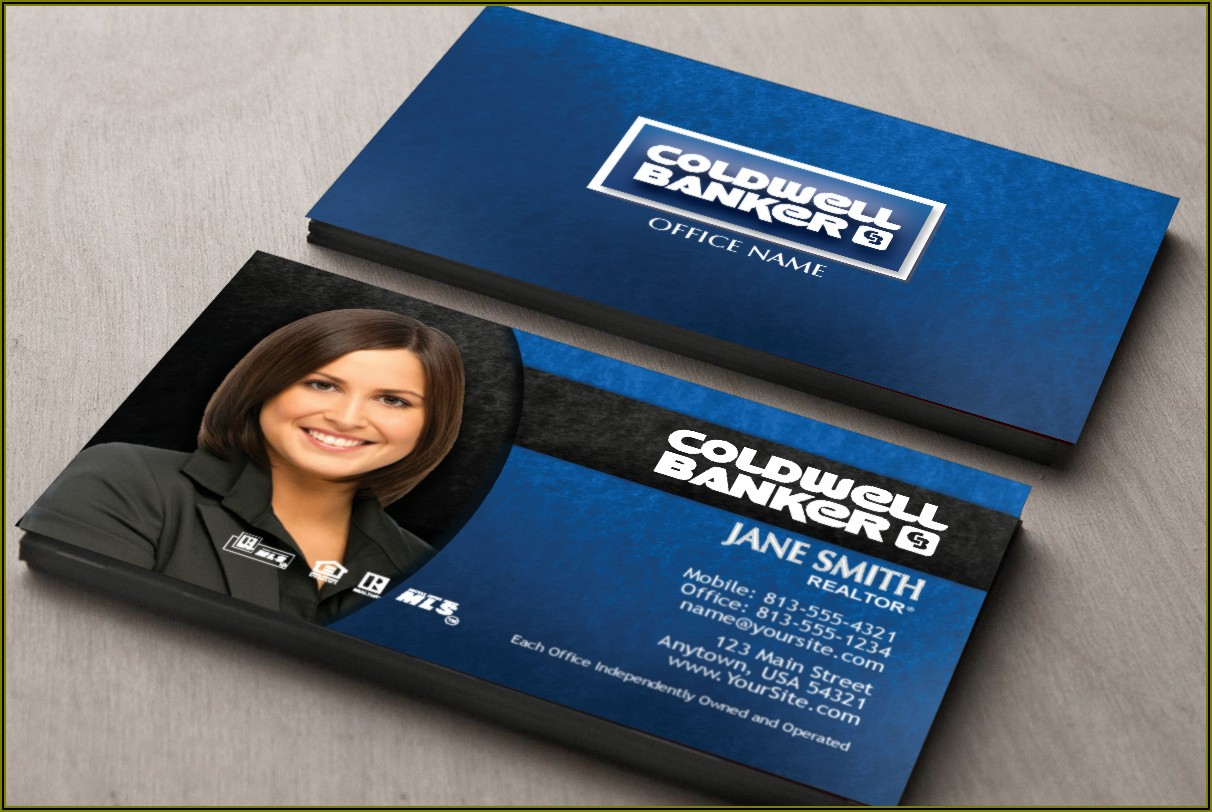 Coldwell Banker Approved Business Cards