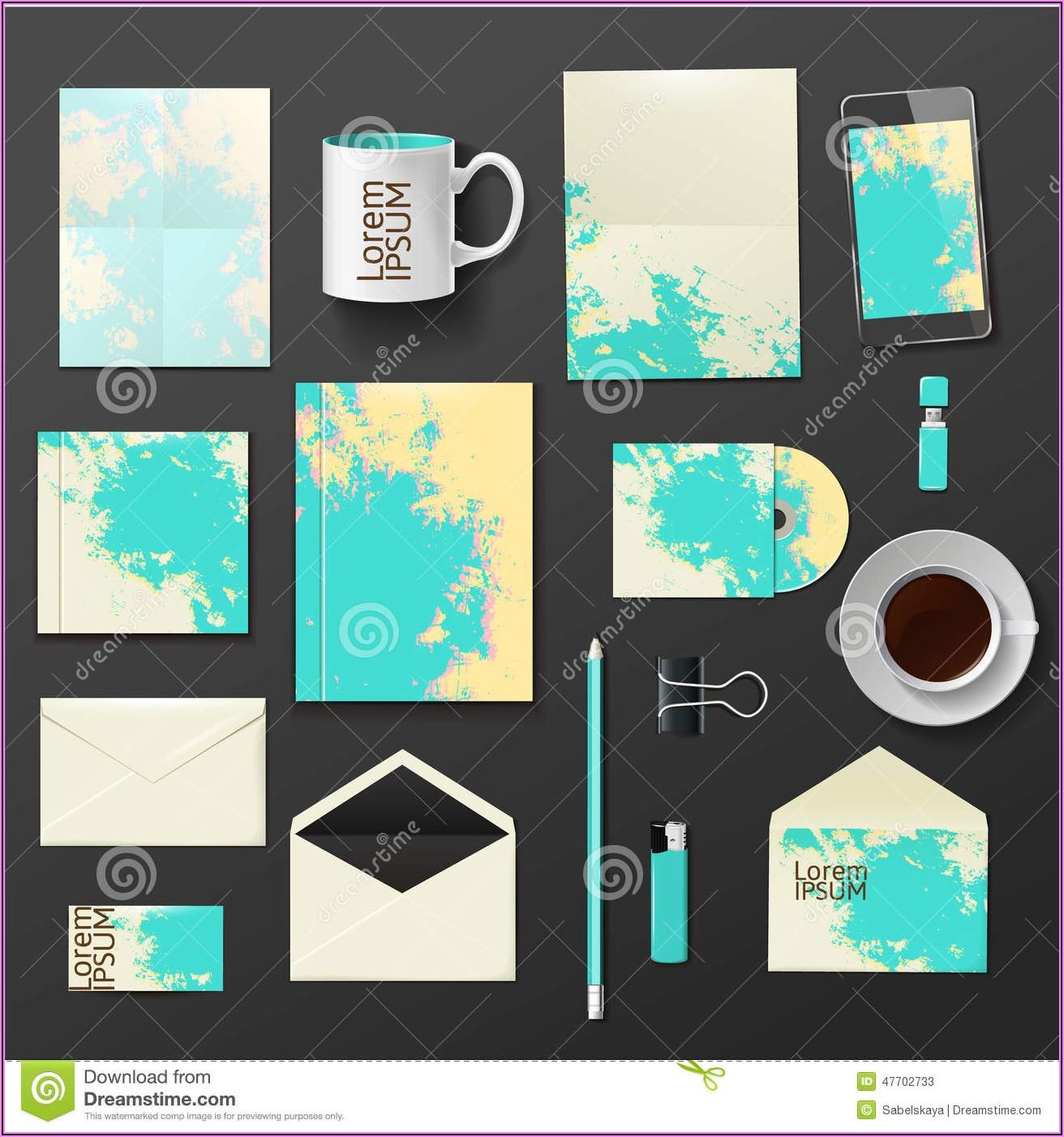 Company Envelope Design Template