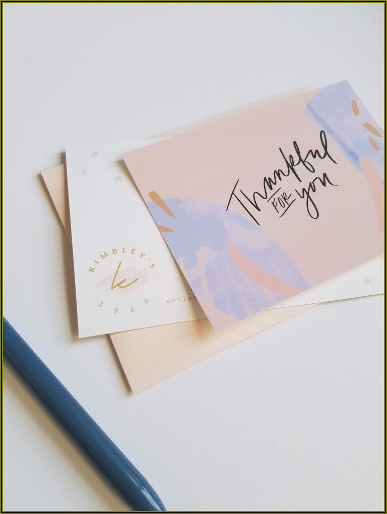 Custom Thank You Cards For Businesses