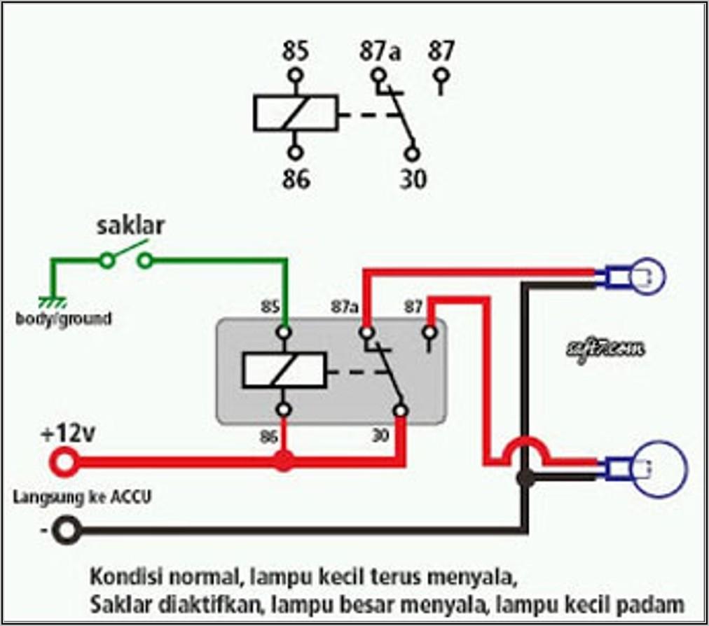 Denso 5 Pin Relay Diagram