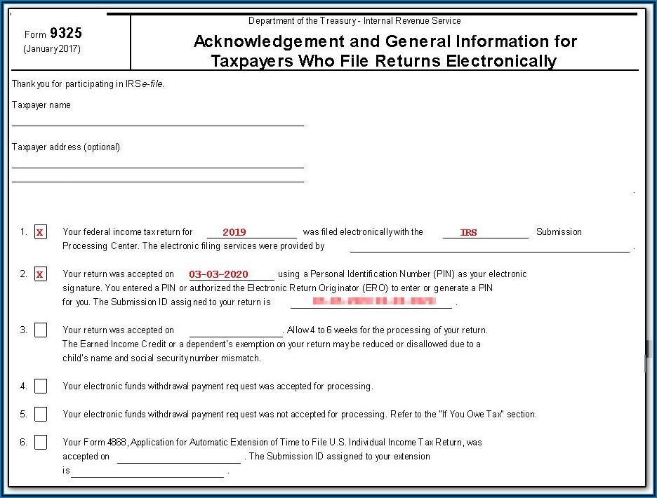 Dept Of Treasury Irs Forms