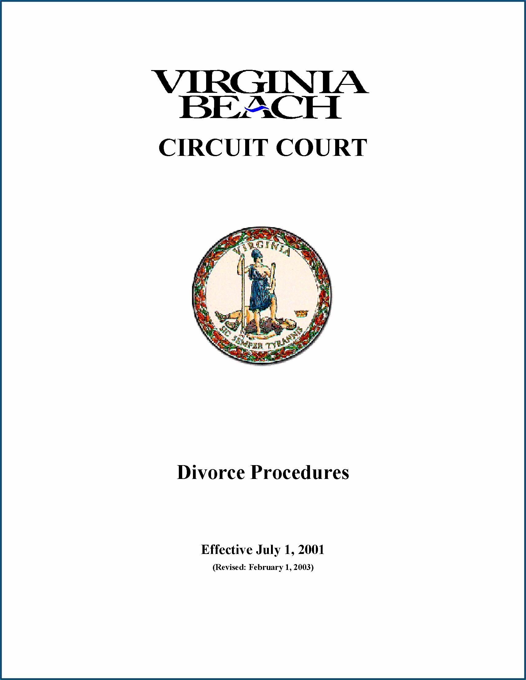 Divorce Court In Virginia Beach