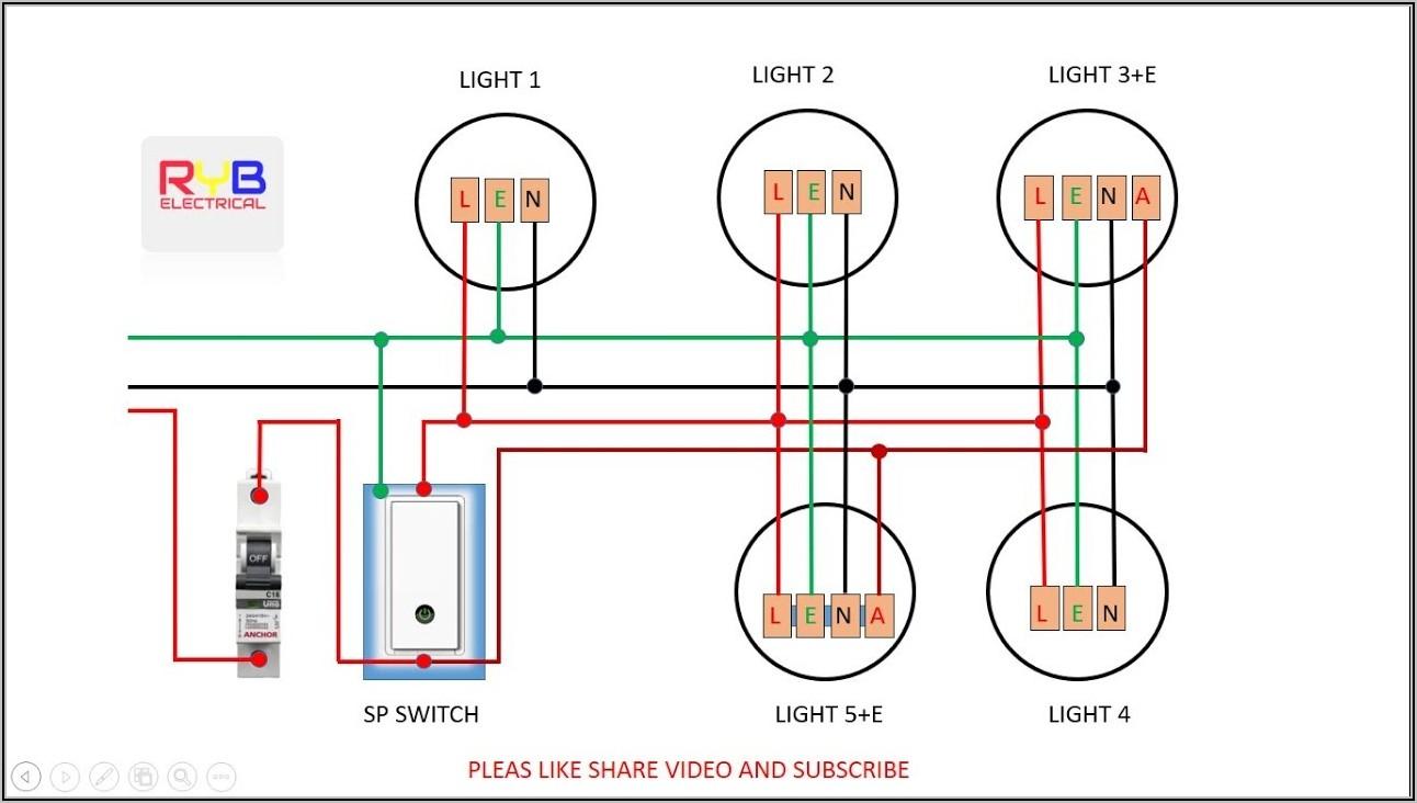 Down Light Wiring Diagram Uk