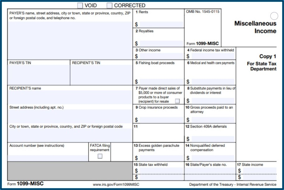 Due Date For 2020 Form 1099 Misc