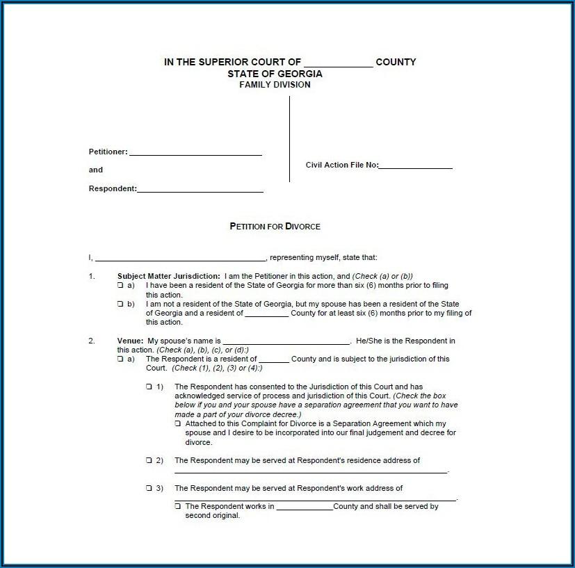 Filing Divorce Papers In Va
