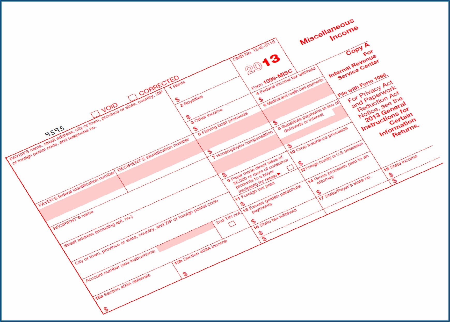 Filing Due Date For 1099 Misc Form If You File Electronically