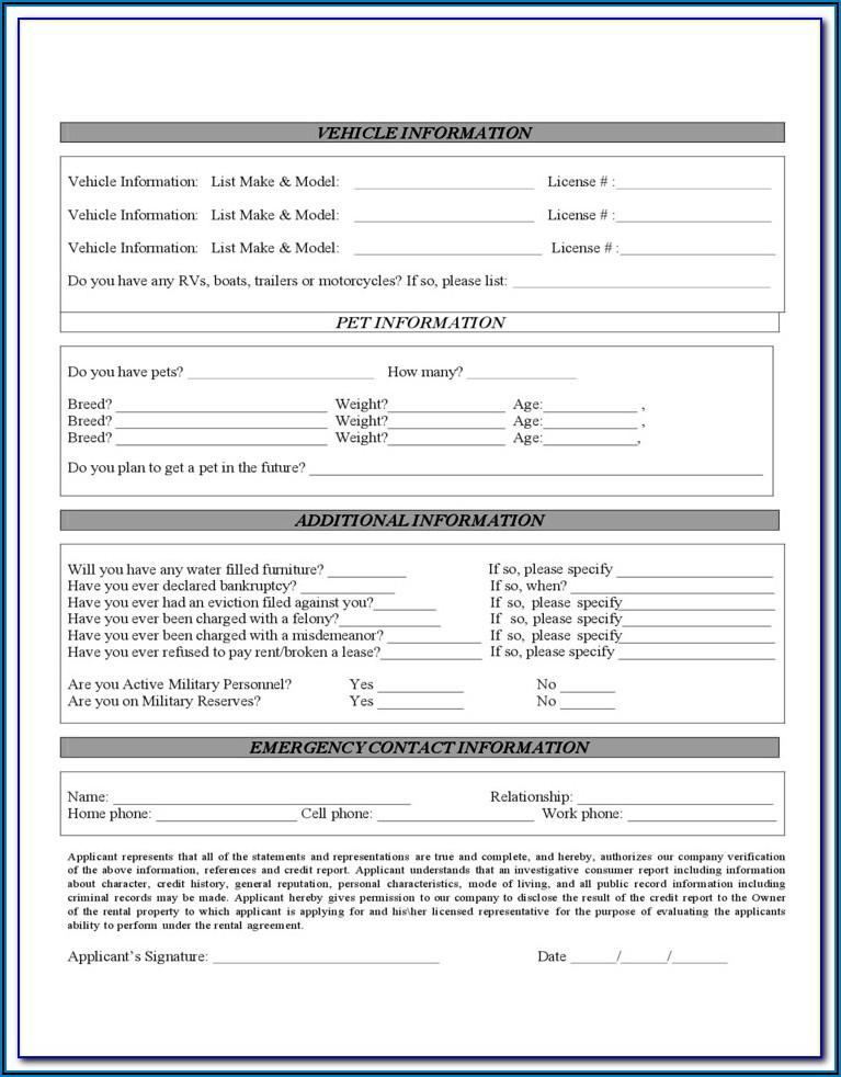 Florida Condominium Lease Agreement Form