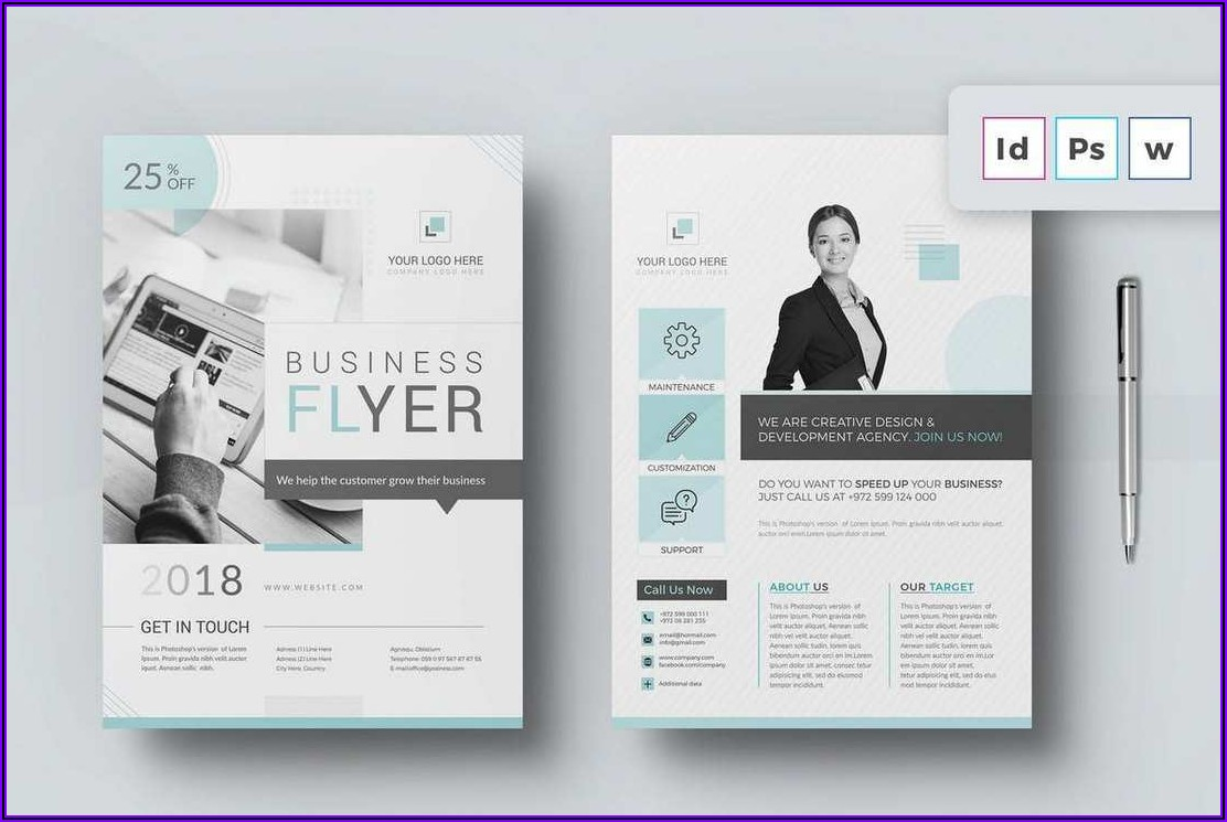 Flyers And Brochures Templates For Free