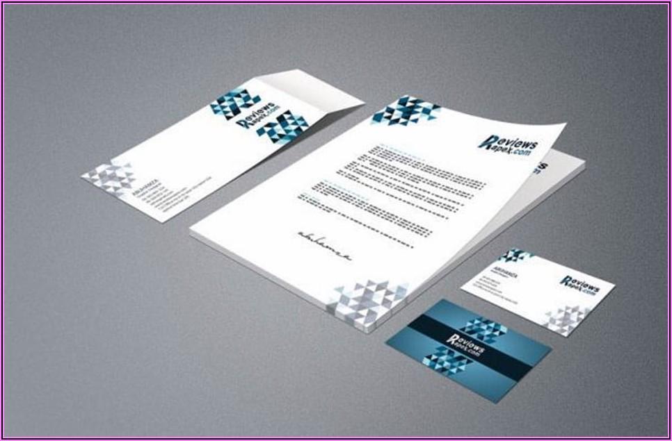 Free Business Card Letterhead Envelope Template