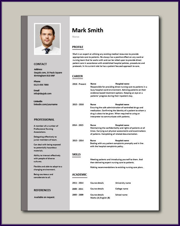 Free Certified Nursing Assistant Resume Template